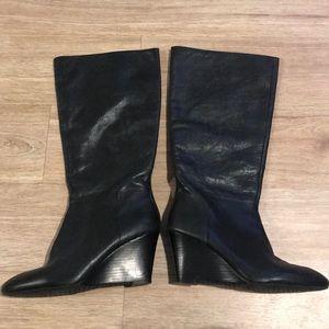 Banana Republic Tegan Wedge Heel Boots